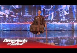 Special Head Levitates and Shocks the Crowd – America's Got Talent
