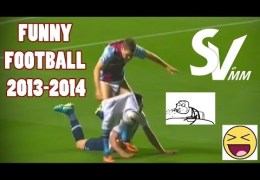 Funny Football Moments ● Misses ● Shots & Fails 2013-2014 | HD