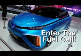 CES 2014: Toyota Announces Hydrogen Fuel Cell Vehicle for 2015 Release