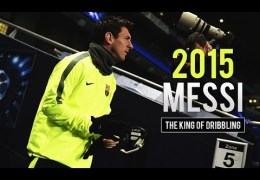 Lionel Messi – The King of Dribbling | 2015 HD