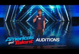 Drew Lynch: Stuttering Comedian Wins Crowd Over – America's Got Talent 2015