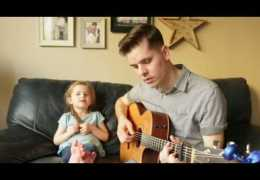 You've Got a Friend In Me – LIVE Performance by 4-year-old Claire Ryann and Dad