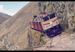 The MOST DANGEROUS and EXTREME RAILWAYS in the World!!