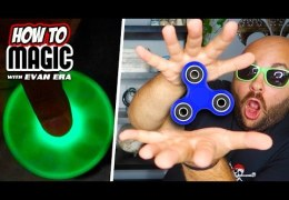 6 Fidget Spinner Magic Tricks