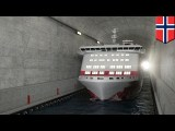 Norway ship tunnel: Norway to spend $315m building world's first ship tunnel