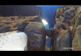 Kjerag from the air – viral drone video from Norway