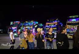 Heavy DJ Night & Sound Show of THAILAND Tourist Bus