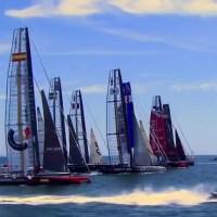 Sailing into Newport