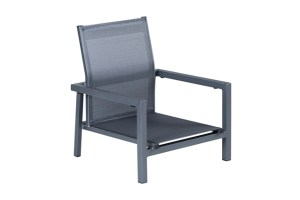 Luxe 51302SL Sling Stacking High Back Beach Chair