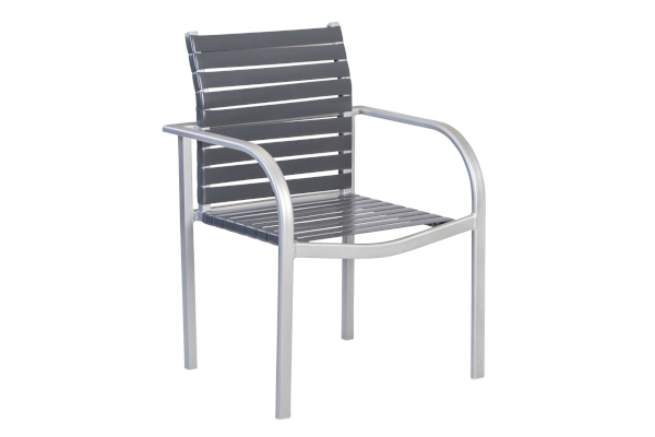 Curv 71110 Vinyl Strap Stacking Dining Chair