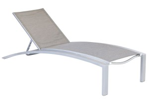 Curv 71203SL Sling Stacking Chaise Lounge