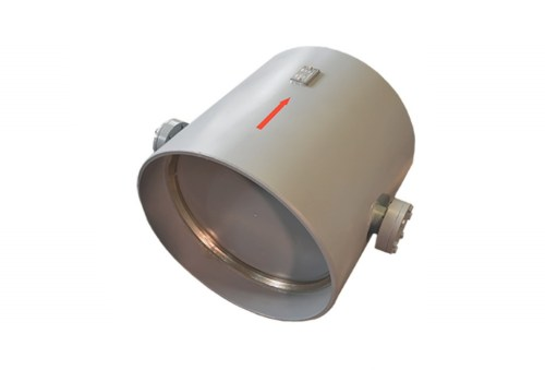 Затвор (клапан) зворотній дисковий сталевий під приварення 19с49нж Ду 150 Ру 25