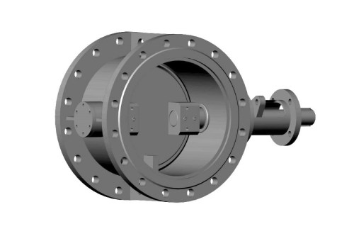 Затвор дисковий з ламінальним ущільненням 3-х ексцентриковий фланцевий 32с310нж Ду 150 Ру 10