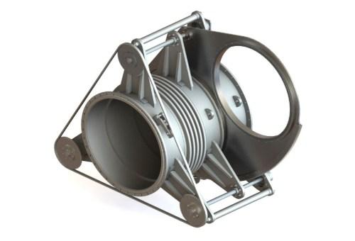 Засувка сталева секторна Ду 1000, Ру 1