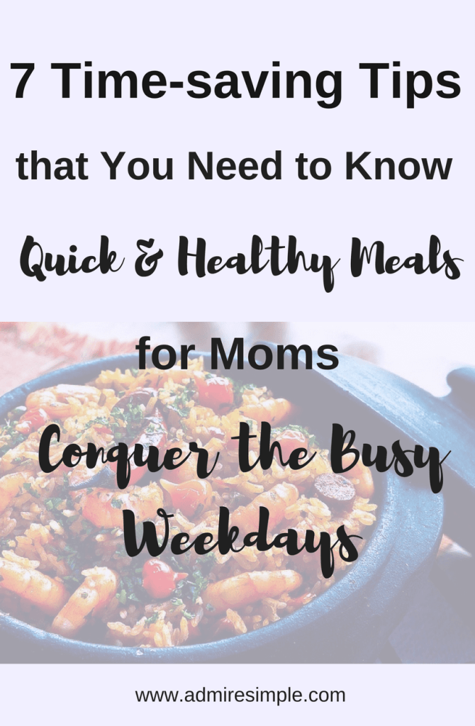 time saving meal prep for busy moms