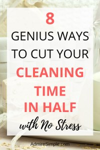 How to clean your house fast and efficiently.