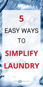 Simplify your laundry will make life easier. Read more to see my laundry habits as a minimalist.