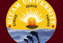GITAM University logo