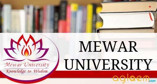 mewar university phd coursework result 2014