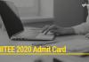 KIITEE 2020 Admit Card