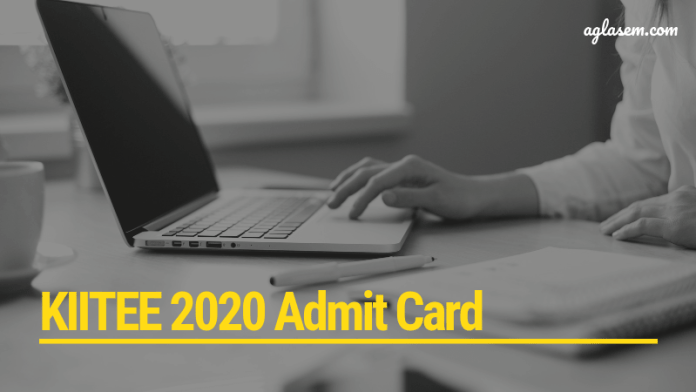 KIITEE 2020 Admit Card