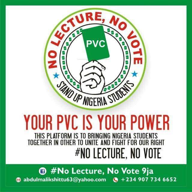 #NoLecturenoVote: Nigerian Students Set to Campaign Nationwide