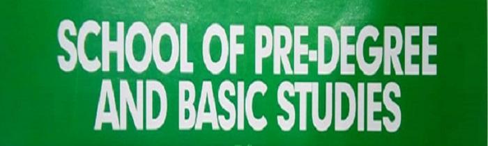 NDU School of Predegree and Basic Studies