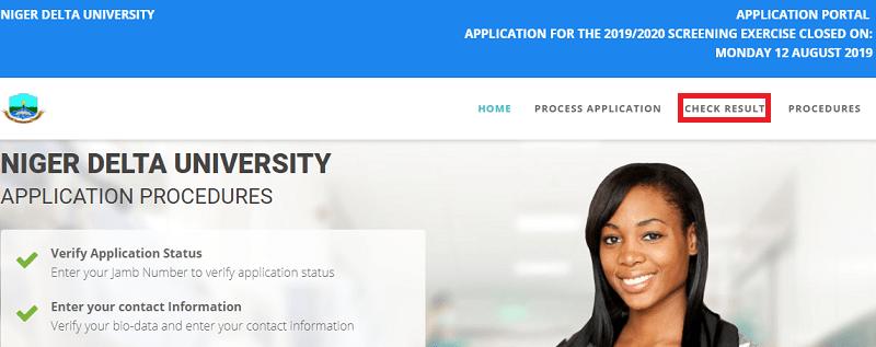 Niger Delta University Post UTME Results Released?