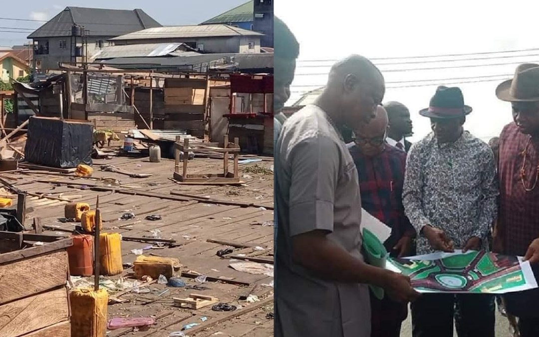 Tombia Roundabout Market Demolished as Bayelsa Government Plans Expansion