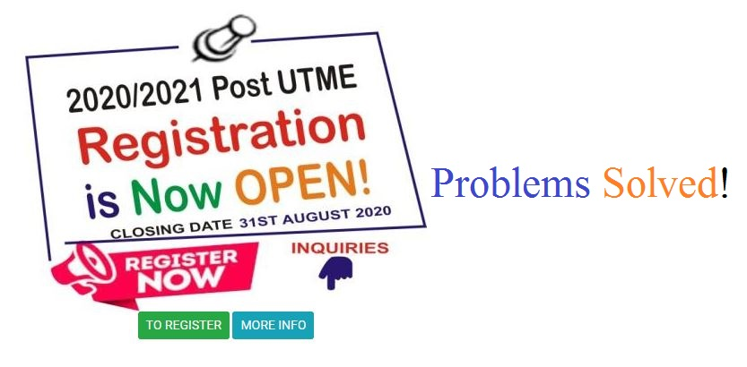 Problems and Solutions to NDU Post UTME Application