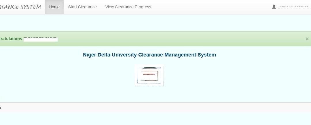 Why Is NDU Graduate Clearance Pending?