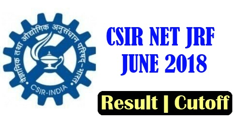Image result for csir net june 2018 result