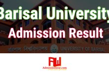 Photo of Barisal University Admission Result 2019-20 । www.bu.ac.bd