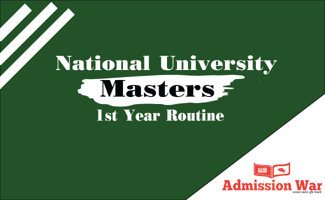 NU Masters 1st Year Routine 2019