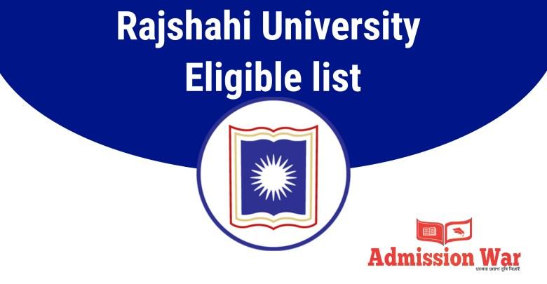ru eligible list