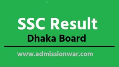 ssc Result Dhaka board.