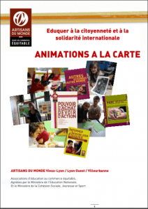 Capture brochure Nos animations