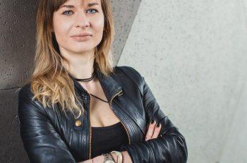 Natalia Bułdak w agencji OPCOM