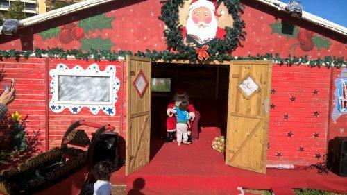 Santa 's house