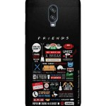 Macmerise Cases And Covers Buy Macmerise Friends Infographic Sublime Case Back Cover For Oneplus 6t Online Nykaa Fashion