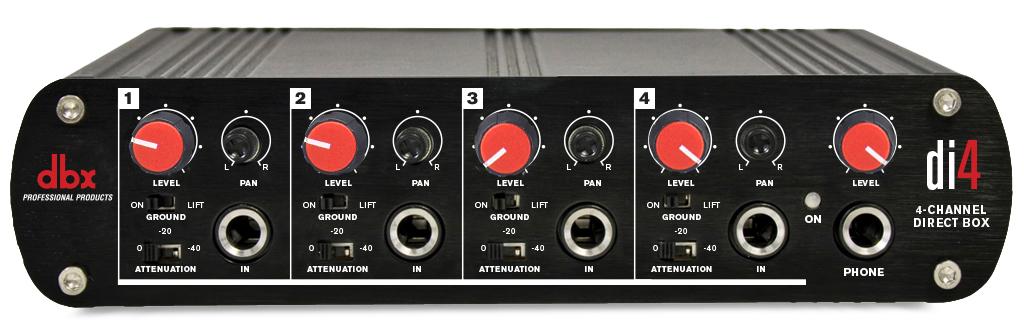 di4 dbx professional audio