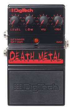 Death metal front medium