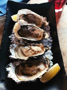 Raw Oysters in Barcelona