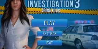 Hidden Investigation 3: Crime Files Free Download Game