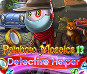 Rainbow Mosaics 13: Detective Helper Free Download Game