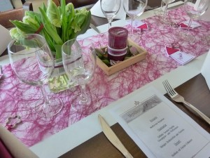 organizarea unei nunti masa din restaurant