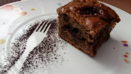 Prăjitura cu cereale de ciocolată