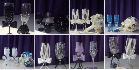 accesorii nuntă personalizate pahare miri