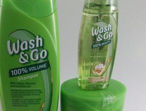 ingrijirea parului cu produse wash and go