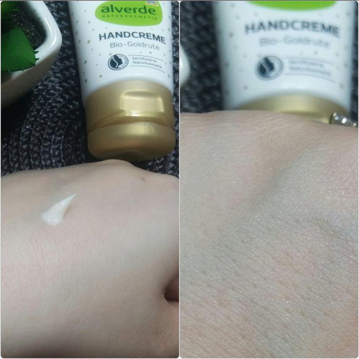 crema de maini cu sclipici